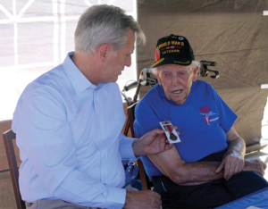 Kern Golden Empire: Local veteran presented with five medals by Congressman Kevin McCarthy