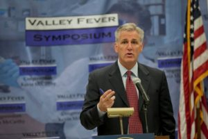 Bakersfield Observed: Leader McCarthy: While the world focuses on the Ebola virus, the Central Valley continues to battle Valley Fever