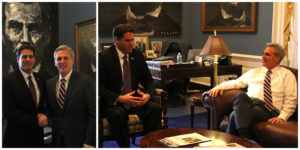 PHOTOS: McCarthy Meets with Israeli Ambassador to the U.S.