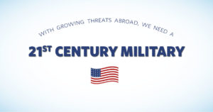 With Growing Threats Abroad, HASC Provides for a 21st Century Military