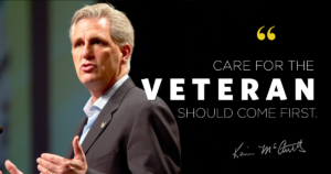Leader McCarthy Announces July Vote on VA Reform