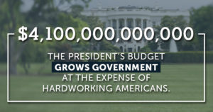 The President's Budget Isn't Serious