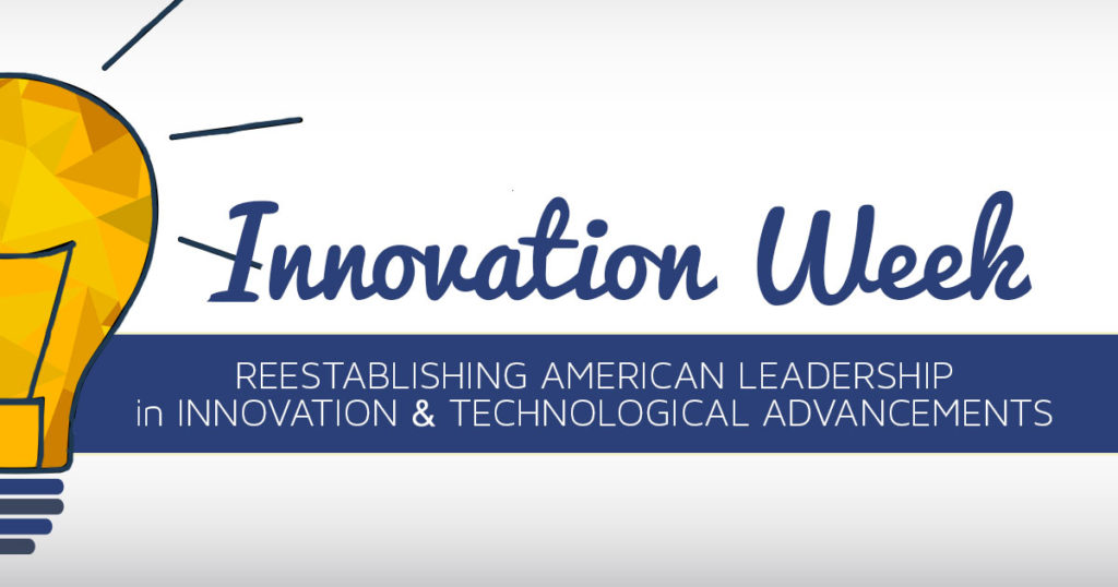 This Week: Innovation for a 21st Century America