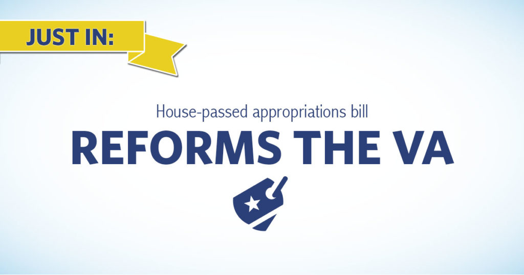 House Appropriations Bill Focuses on VA Reform, Military Construction Accountability