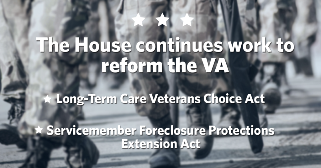 House Continues Work to Reform the VA