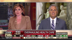 Leader McCarthy on the Air: We Will and Must Repeal Obamacare
