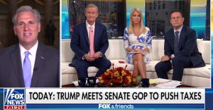 Leader McCarthy on Fox & Friends: 'This is an American Tax Plan'