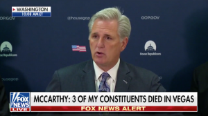 McCarthy Pays Tribute to Constituents Lost in Las Vegas Shooting