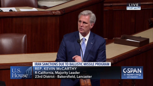 Leader McCarthy Speaks on Iran and North Korea Sanctions