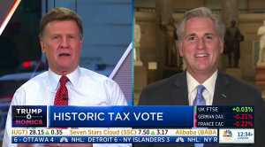 Leader McCarthy Talks Historic Tax Cuts on CNBC