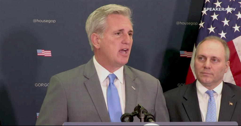 McCarthy Speaks on California Wildfires, Tax Cuts
