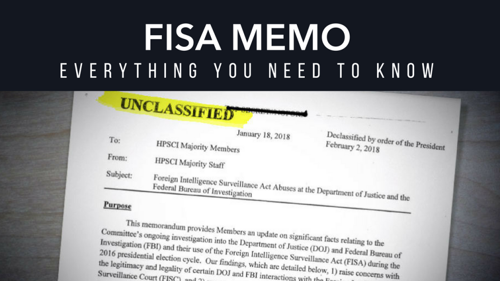 FISA Memo | Everything You Need To Know