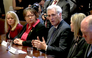 Leader McCarthy Speaks at White House on CA Sanctuary Laws