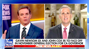 Leader McCarthy Talks CA Primaries, Gas Tax, Economic Boom on Fox News