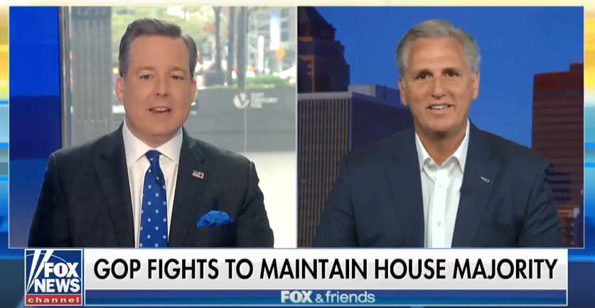 McCarthy Discusses Midterms on Fox & Friends