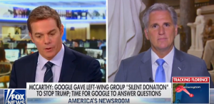 McCarthy Slams Google Bias and Demands Answers