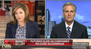 Kevin McCarthy Talks Midterms, Border Wall on Fox Business