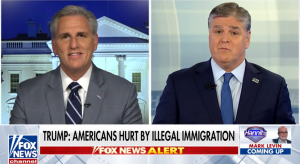 Leader McCarthy Reacts to President Trump's Address to the Nation on Fox News