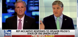 Leader McCarthy Discusses the State of the Union on Fox News