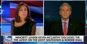"Leader McCarthy Joins Fox News' ""Justice with Judge Jeanine"""