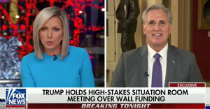 Leader McCarthy Talks Border Security, Shutdown on Fox News