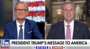 Leader McCarthy Joins Fox & Friends for State of the Union Reaction