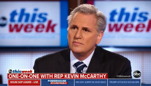 "Leader McCarthy Joins ABC's ""This Week"" with George Stephanopoulos"