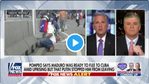 ICYMI – Leader McCarthy: Socialism Has Destroyed Venezuela
