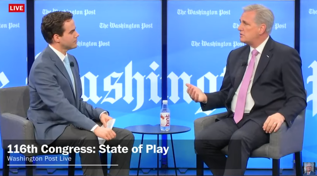 Highlights from Leader McCarthy's Washington Post Live Interview