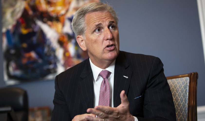House Minority Leader Kevin McCarthy, a California Republican, said he favors national regulation of consumer data privacy over a state-by-state approach. PHOTO: AL DRAGO FOR THE WALL STREET JOURNAL